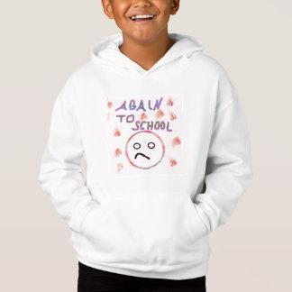 "T-shirts Hoodies ""outra vez à escola """