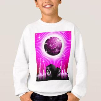 T-shirts ilustração da música com a bola do auto-falante e