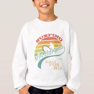 T-shirts Ilustração do surf de Califórnia, gráficos do