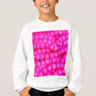 T-shirts Impressão vibrante do grânulo do rosa quente