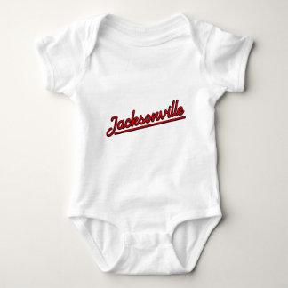 T-shirts Jacksonville no vermelho