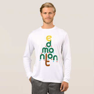 T-shirts Jérsei da árvore de Natal