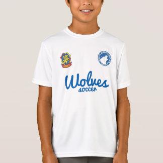 T-shirts Jérsei da prática dos miúdos