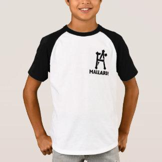 T-shirts Jérsei dos patos selvagens dos miúdos