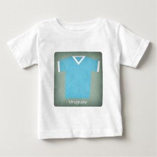 T-shirts Jérsei retro Uruguai do futebol