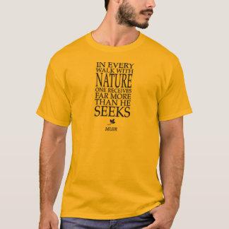T-shirts John Muir