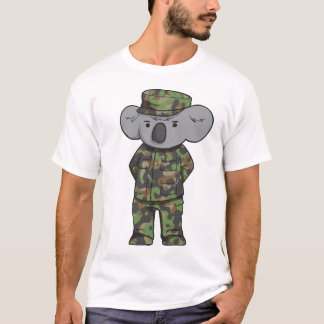 T-shirts Koala do exército
