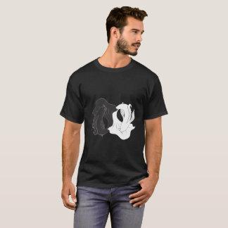 T-shirts Koi de Ying e de Yang