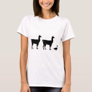 T-shirts Lama, lama, pato