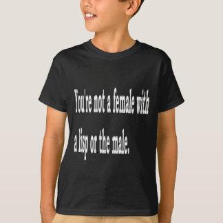T-shirts Lisp fêmea, 2b