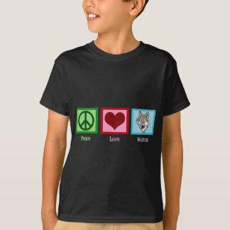 T-shirts Lobos do amor da paz