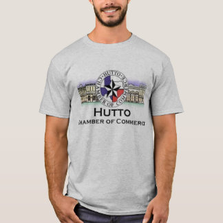 T-shirts Logotipo da câmara de Hutto da Web