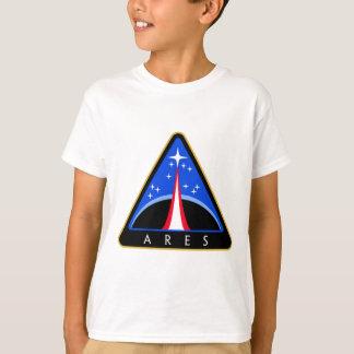 T-shirts Logotipo da NASA Ares Rocket