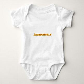 T-shirts Logotipo do texto de Jacksonville Florida