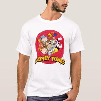 T-shirts Logotipo Looney do caráter dos acordos