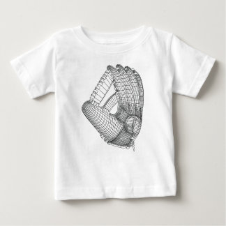 T-shirts luva de basebol