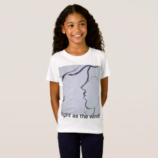 T-shirts luz como o vento