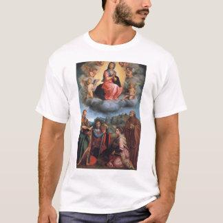 T-shirts Madonna com quatro santos