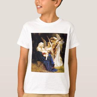T-shirts Madonna e criança e três anjos