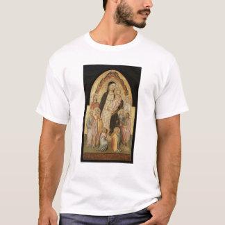 T-shirts Madonna e criança Enthroned