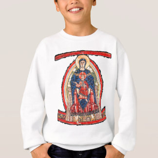 T-shirts Madonna Enthroned - século XII