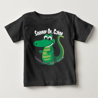 "T-shirts ""Mais logo ou jacaré """