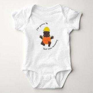 T-shirts Mamães do trabalhador da construção