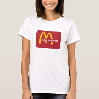T-shirts Mc-salário do salário mínimo