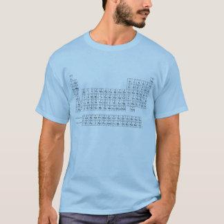 T-shirts Mesa de elementos periódica