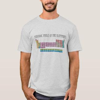 T-shirts Mesa periódica dos elefantes