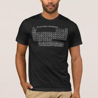 T-shirts Mesa periódica dos elementos