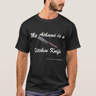 T-shirts Meu Athamé é uma faca de cozinha
