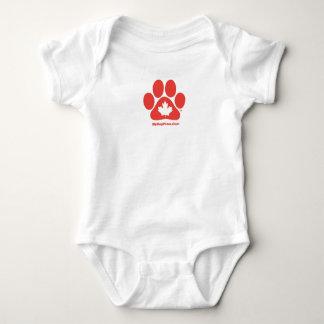 T-shirts Meu cão vota o Creeper infantil canadense