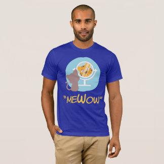 """T-shirts """"meWow"""" - (mim + Meow + Wow = MeWow)"""