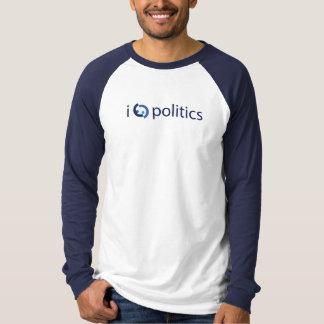 T-shirts Mim política do coração (talvez demasiada)