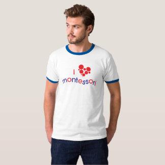 T-shirts Mim T da campainha de <3 Montessori