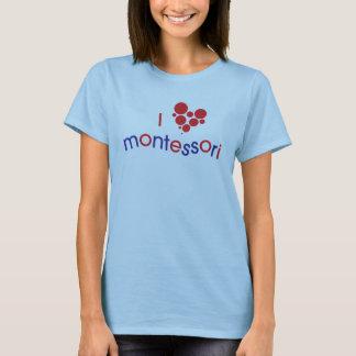 T-shirts Mim T do espírito de <3 Montessori TGPM