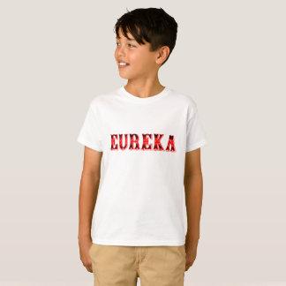 T-shirts miúdos legal Eureka-Engraçados da exclamação do