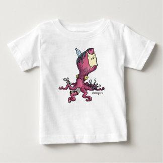 T-shirts miúdos poopy do polvo