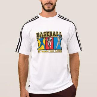 T-shirts Modo de vida do basebol