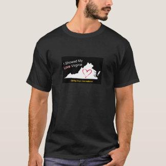 T-shirts Mostre o amor Virgínia