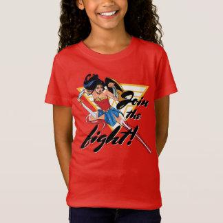 T-shirts Mulher maravilha com espada - junte-se à luta