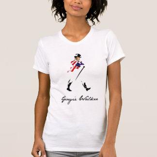 T-shirts Mulheres do caminhante de Georgie
