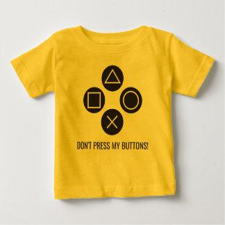 T-shirts Não pressione meus botões