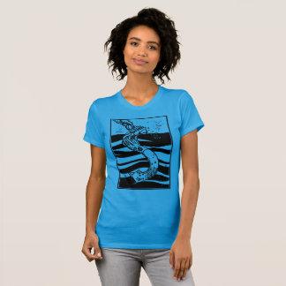 T-shirts Navio de naufrágio do calamar