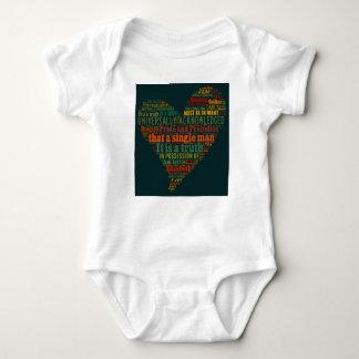 T-shirts Nuvem da palavra do orgulho e do preconceito