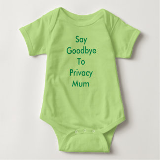 T-shirts O bebê de Meme cresce