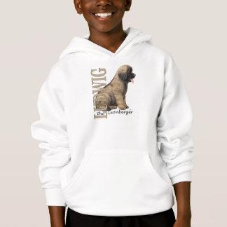 T-shirts O Ludwig do miúdo o Hoodie do filhote de cachorro