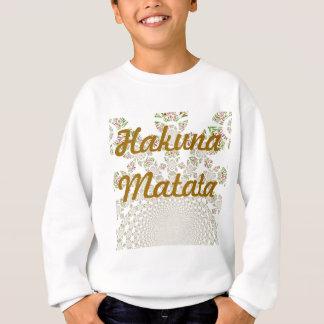T-shirts O matata de Hakuna caçoa a camisola
