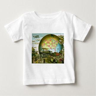 T-shirts O mundo do transporte 1910